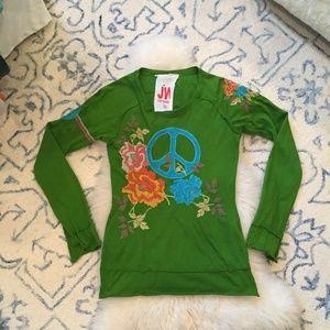 JW Los Angeles Peace Tee Shirt